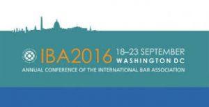 IBA2016 conference logo