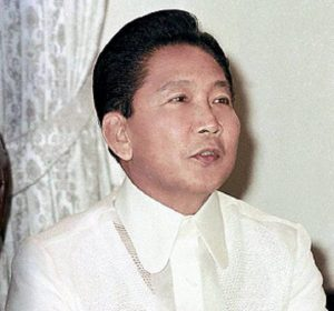 President Marcos of the Philippines