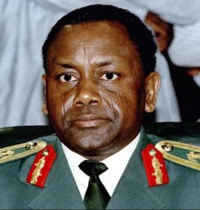 Photo of President Sani Abacha - Corruption